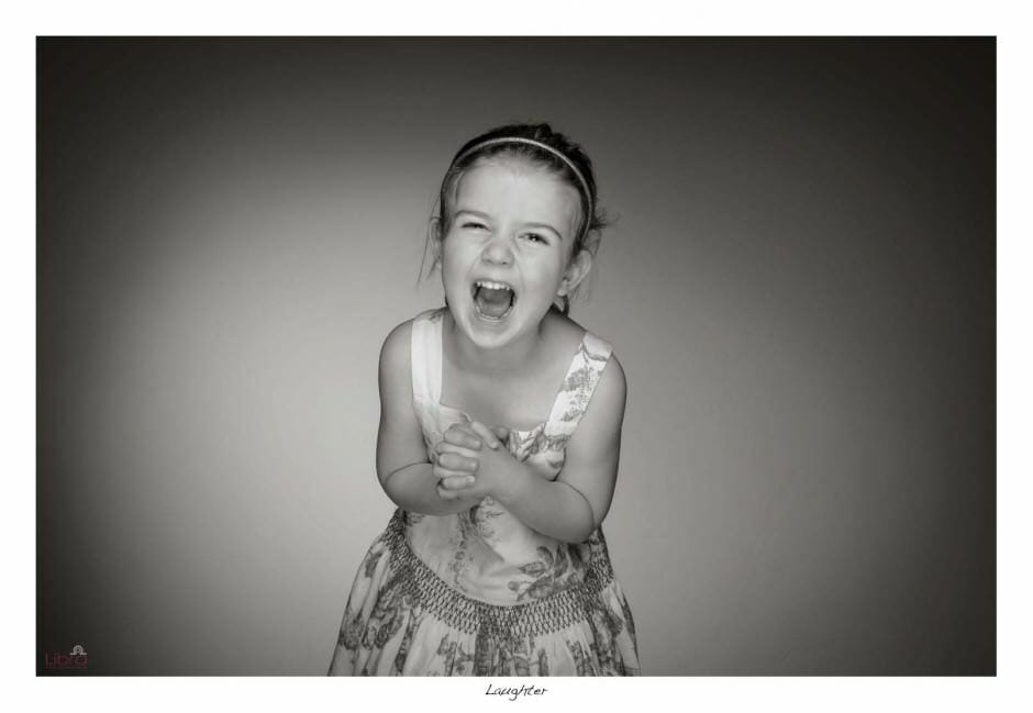 Laughter in the photo studio