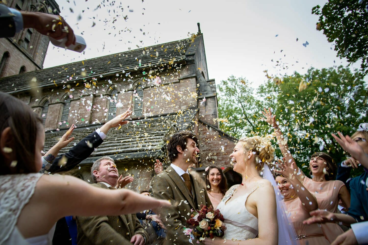confetti-in-purbeck-wedding