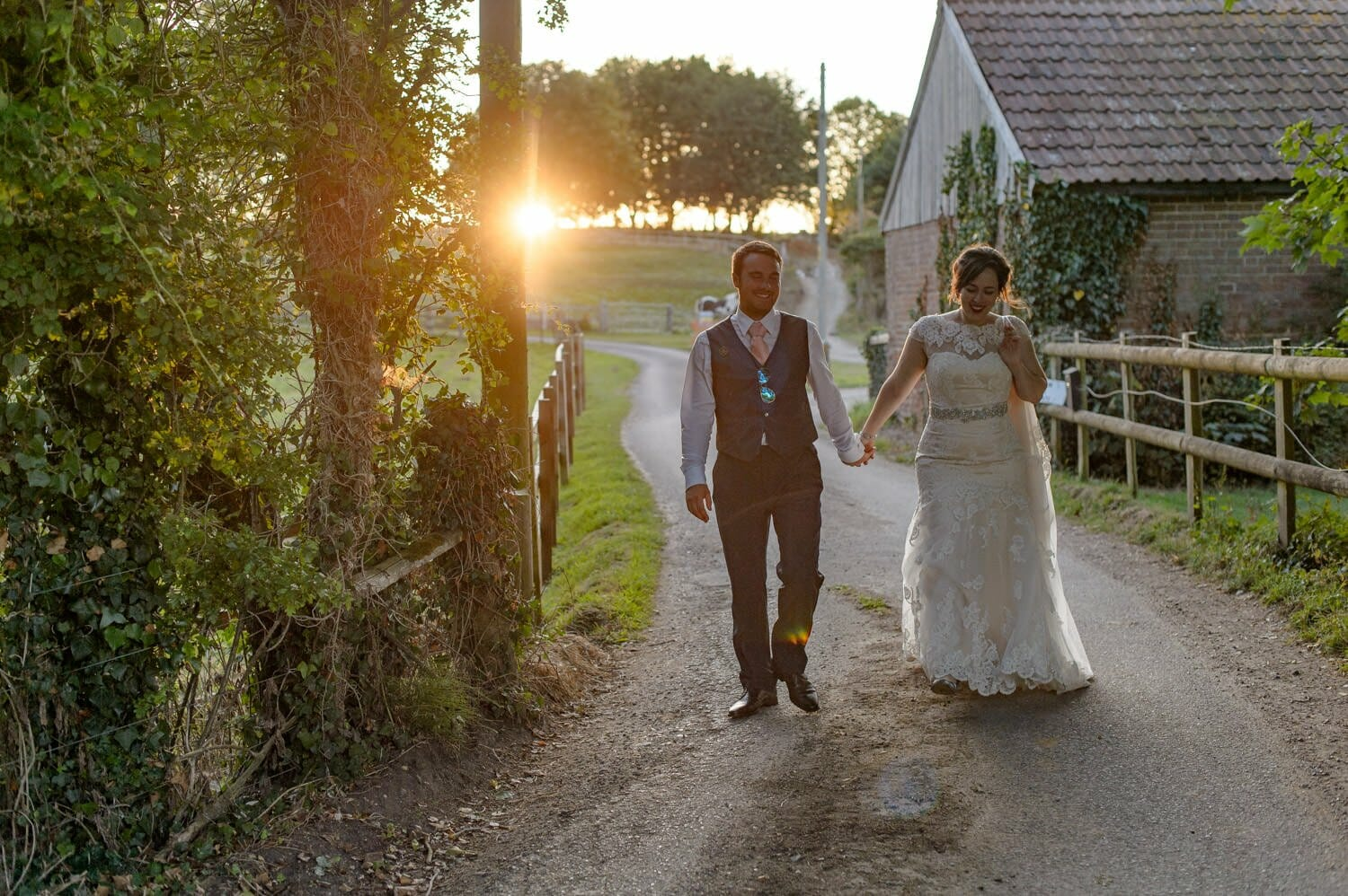 dorset-wedding-sunset