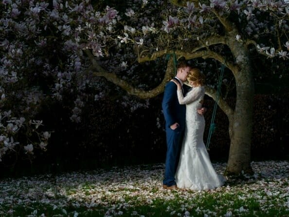 magnolia-tree-wedding-spring