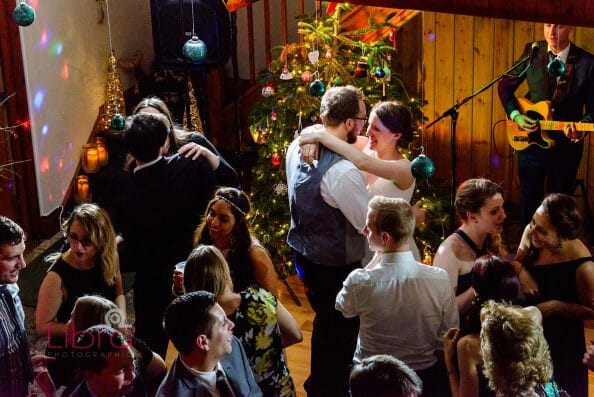 A christmas Dorset wedding at the Victorian Barn