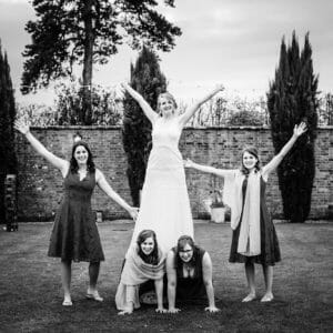 bridal pyramid at parley manor