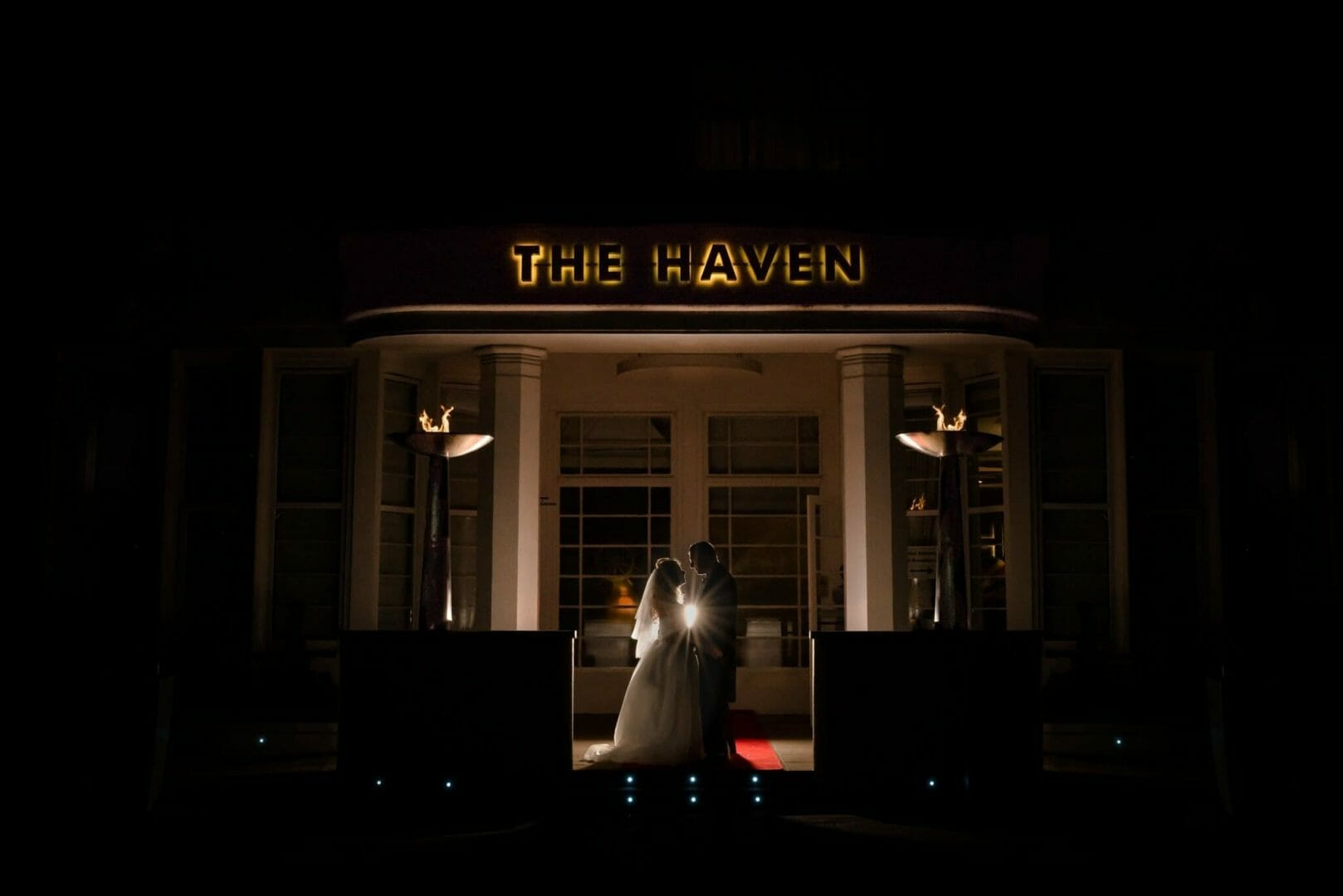 The Haven Hotel Wedding photographer