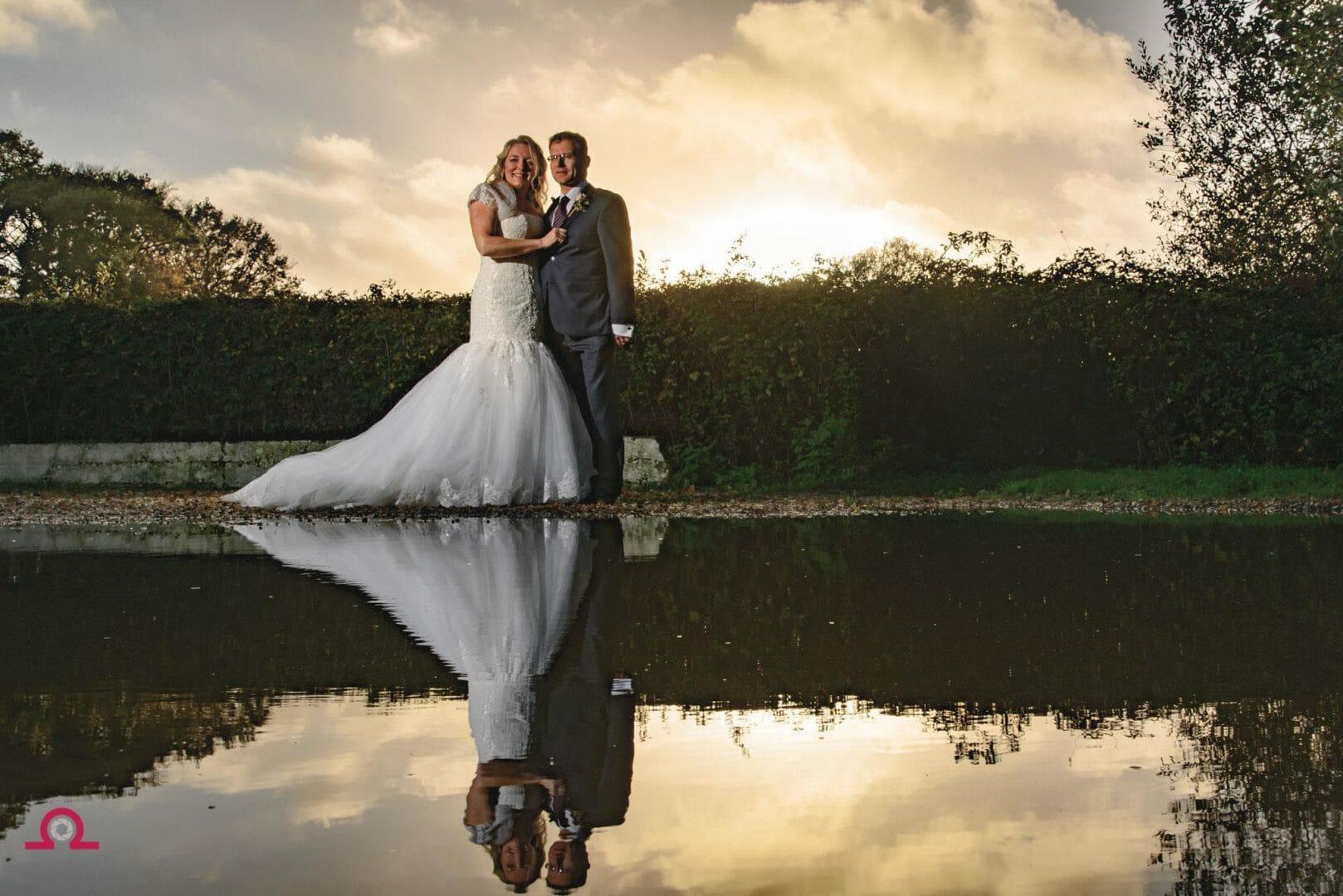 Reflection at a Christchurch wedding