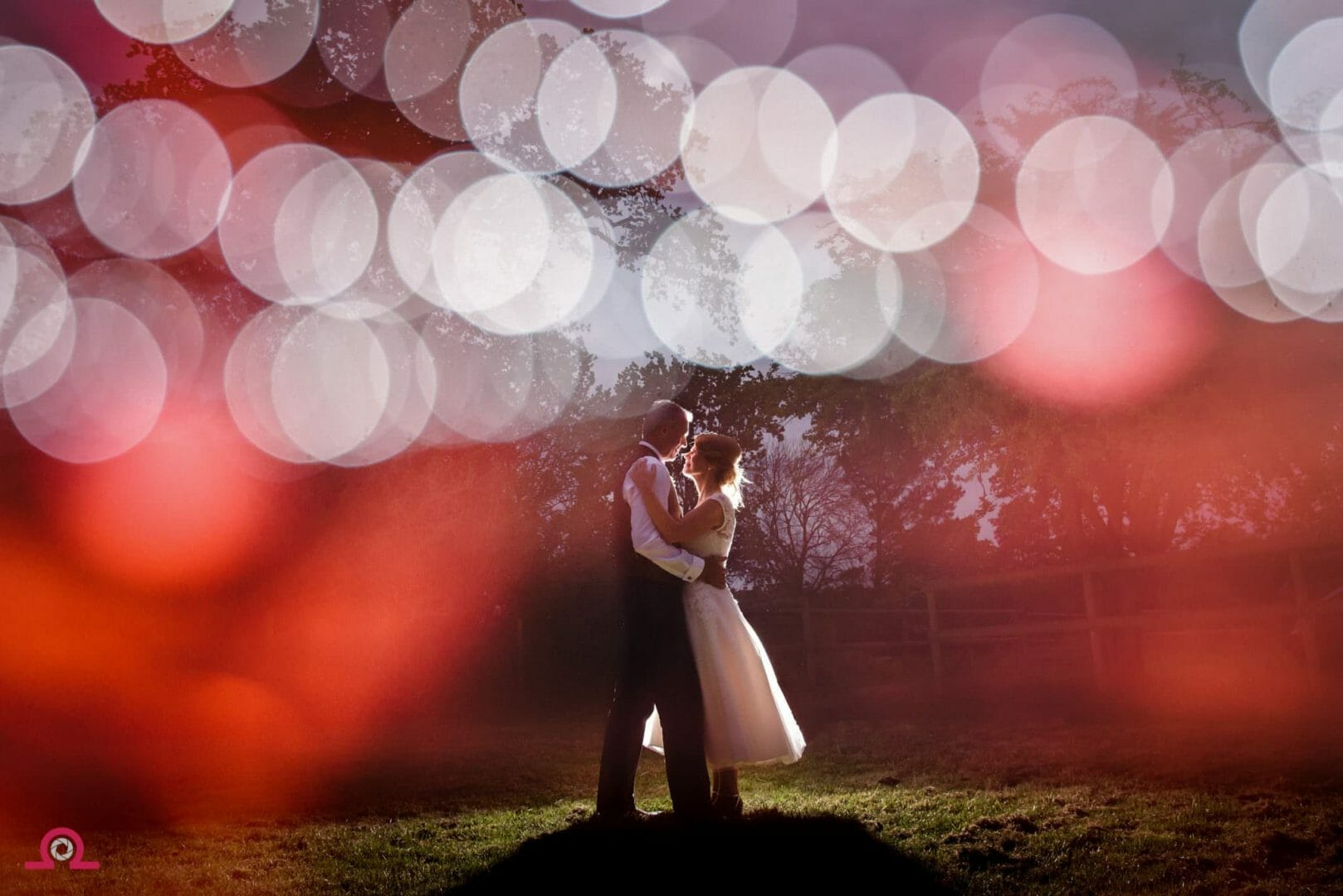 Bride and groom- the Three tuns-New-forest