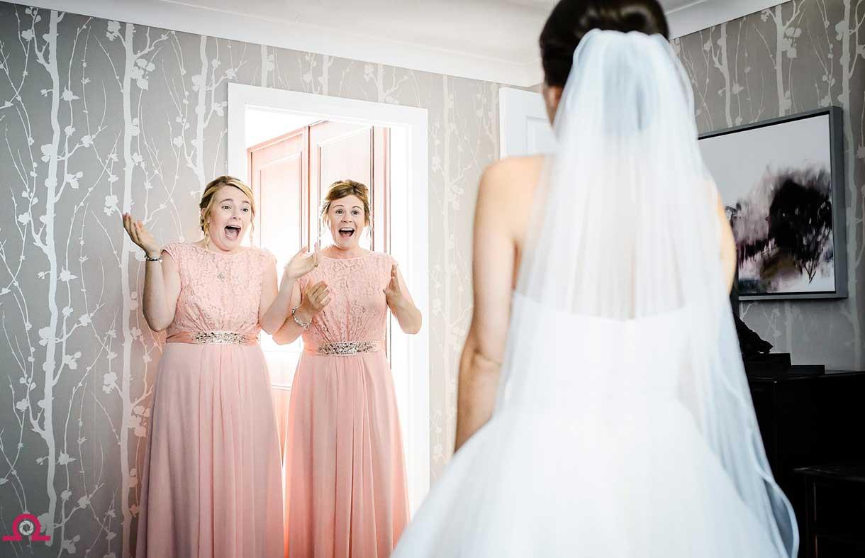 Bridesmaids-reaction-to-wedding-dress
