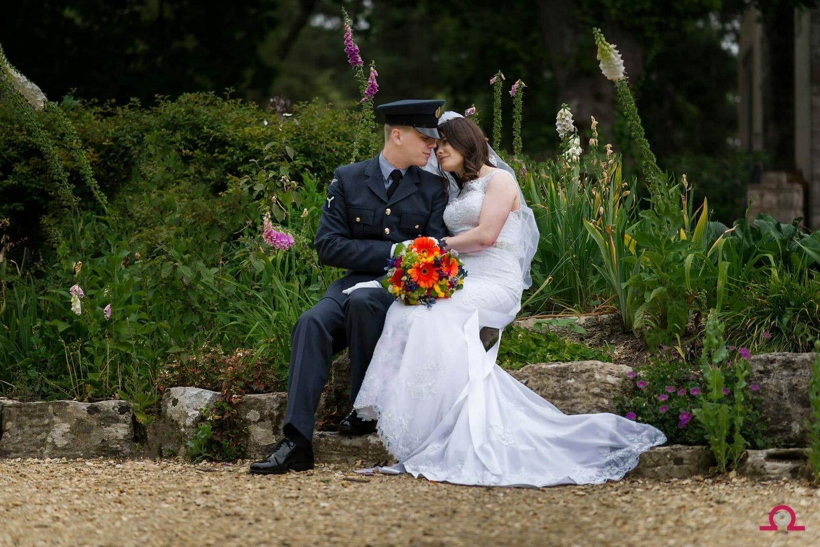 Koi-pond-bournemouth-wedding-photography