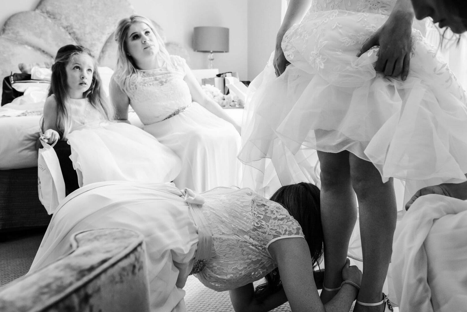 Documentary wedding photography at the Kings Arms
