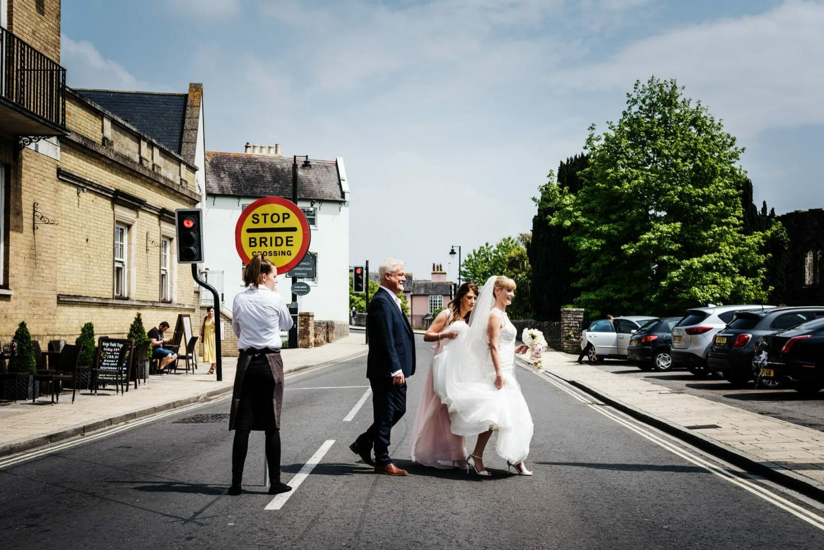 Bride Crossing - Kings Arms