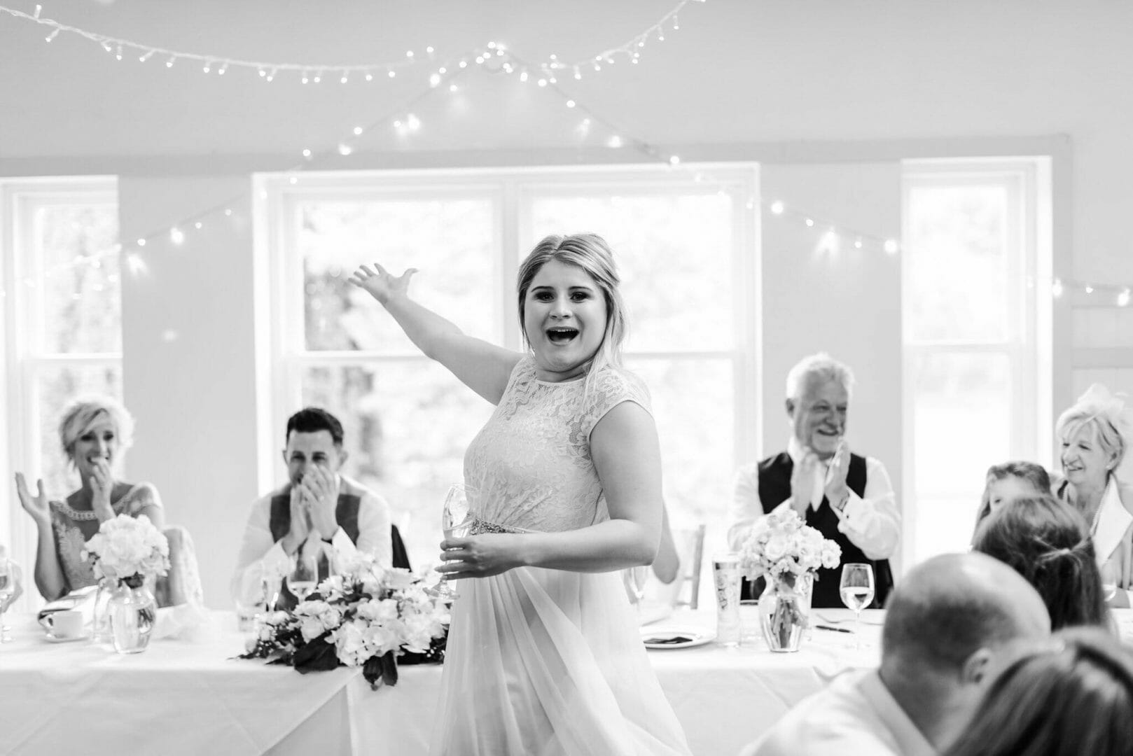Bridesmaids speech - Reportage wedding photography