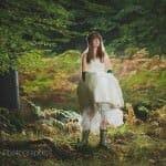 Bride in wellies