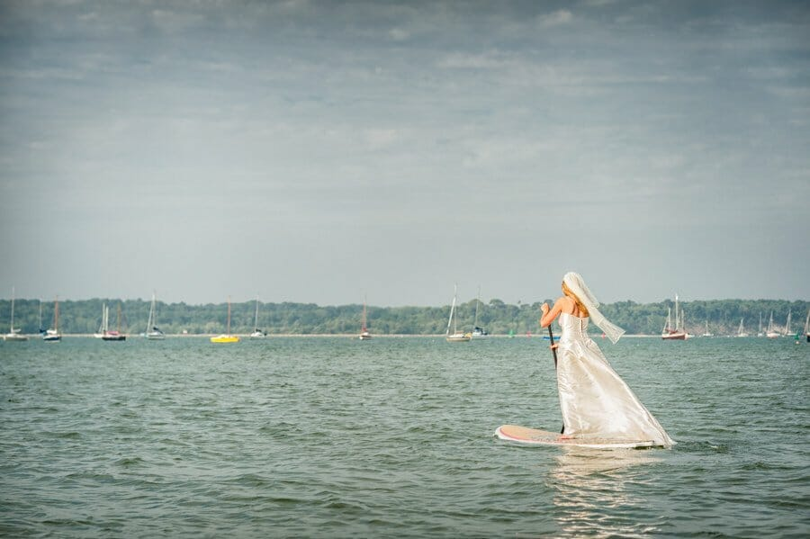 SUP in Poole harbour