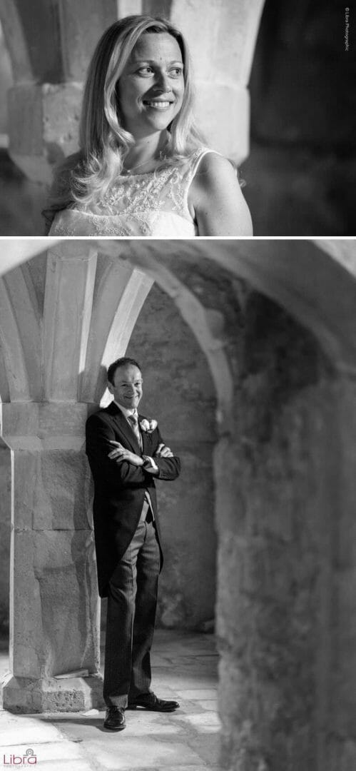 Groom under Lulworth Castle
