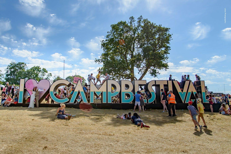 Camp Bestival wedding