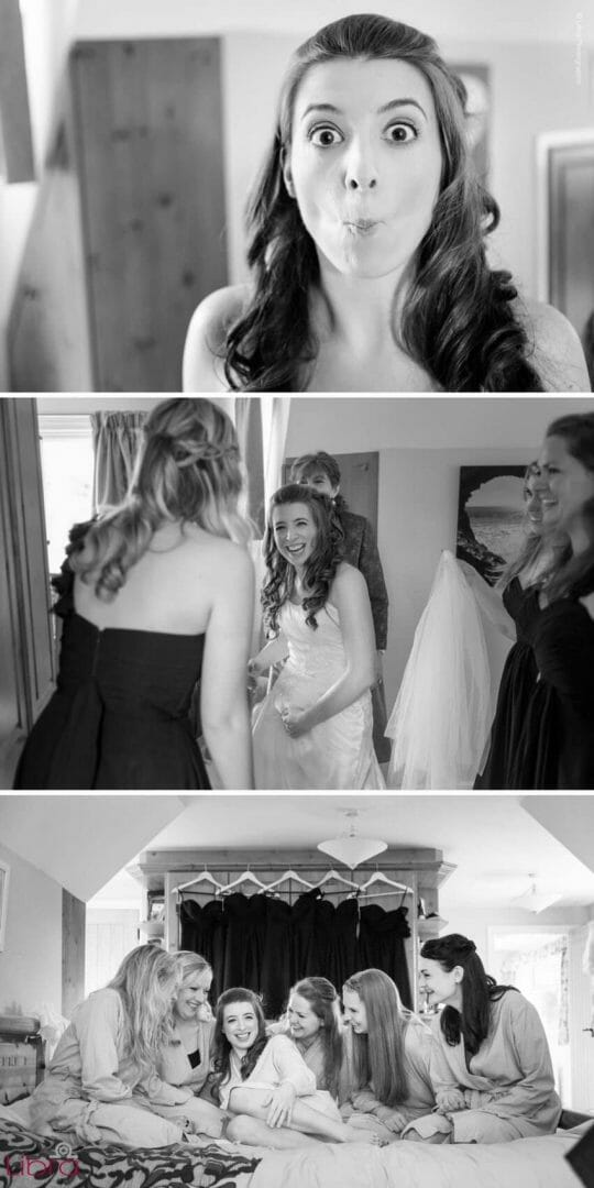 bride get ready for the big day