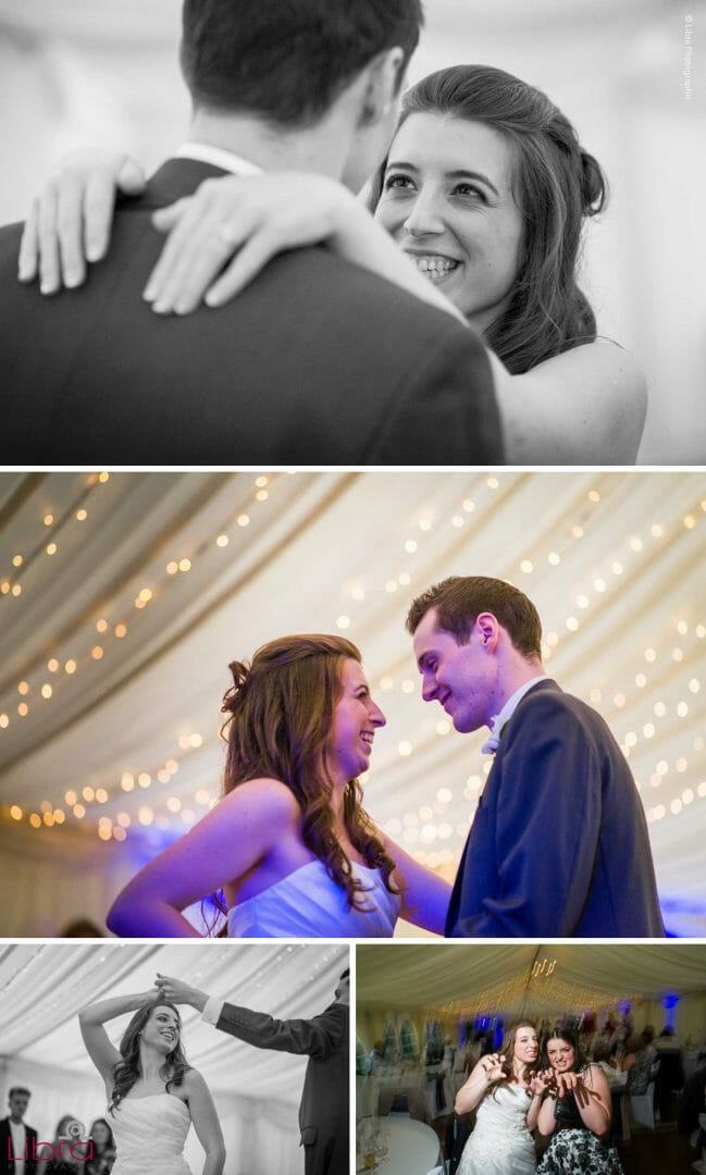 Love on the first dance floor