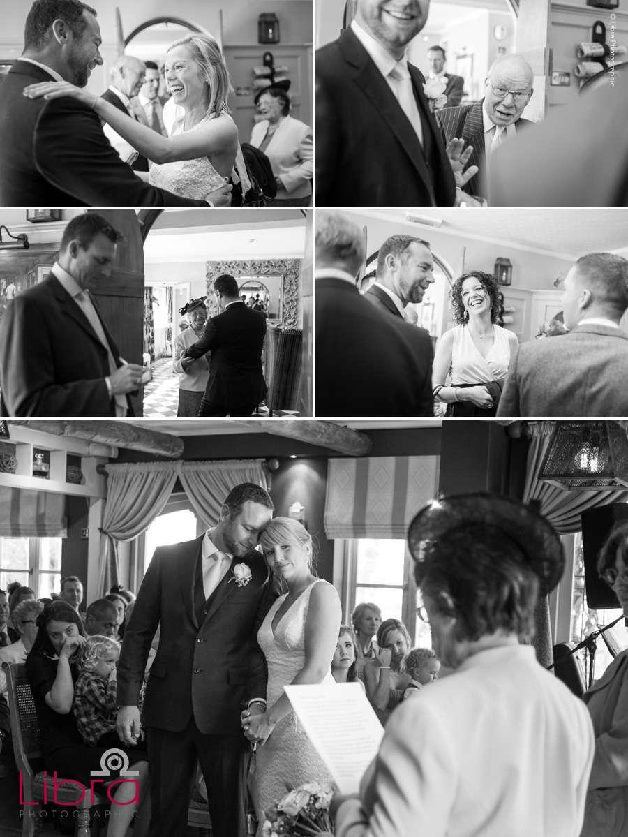 Hampshire wedding photography near Lymington